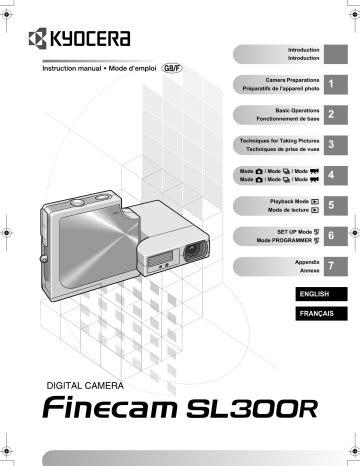 Kyocera Sl300r Manual (ePUB/PDF) Free