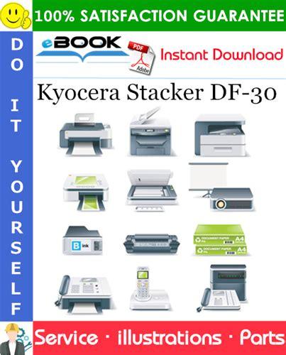 Kyocera Stacker Df 30 Parts Catalogue (ePUB/PDF)