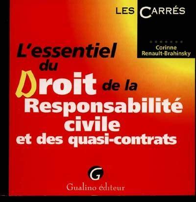 L Essentiel Du Droit Responsabilite Civile (ePUB/PDF)