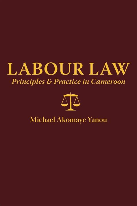 Labour Law Principles And Practice In Cameroon Yanou A PDF EPUB EBOOK