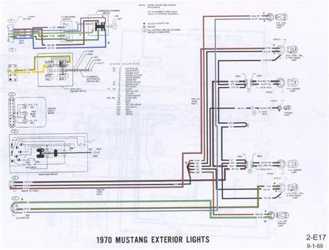 lamp wiring diagram 1970 mustang sport