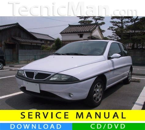 Lancia Y Service Manual (ePUB/PDF)