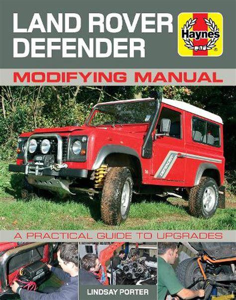 Land Rover Defender Modifying Manual (ePUB/PDF)