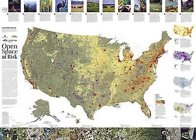 Landscope Us Conservation Wall Maps History Nature