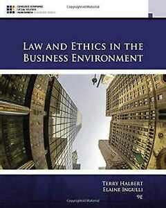 Law And Ethics In The Business Environment MindTap Course List
