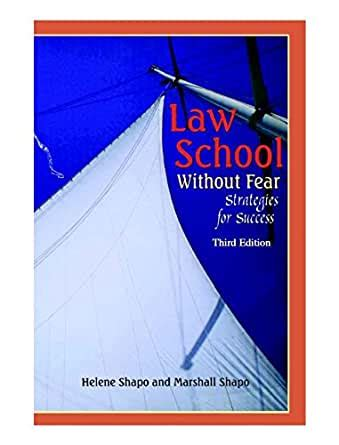 Law School Without Fear Strategies Forsuccess Coursebook