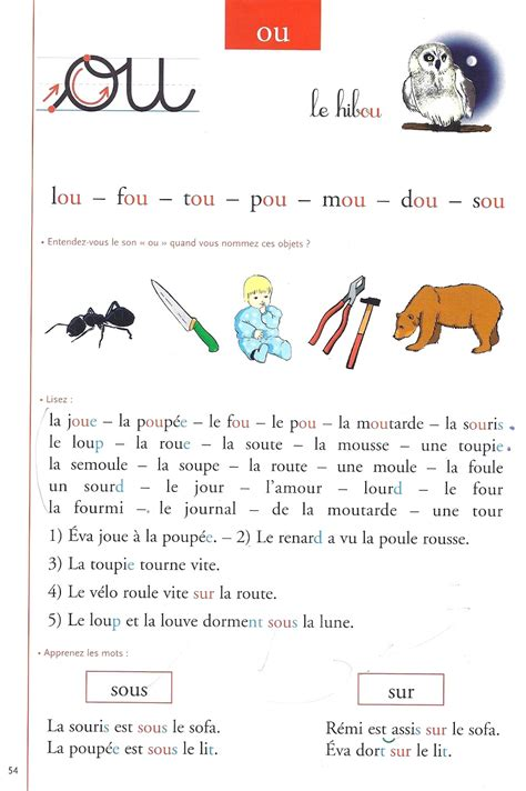 Lecture Cp Francais
