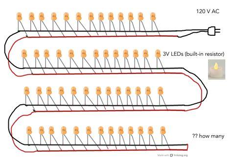 led parallel wiring diagram