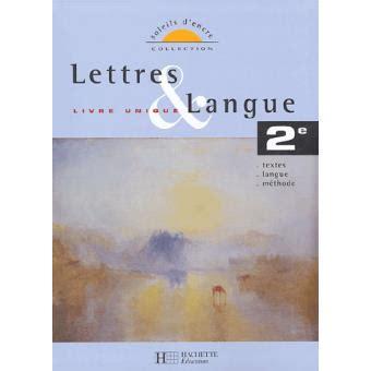Lettres Et Langues Soleils Dencre Francais 1e Livre Du Professeur ...
