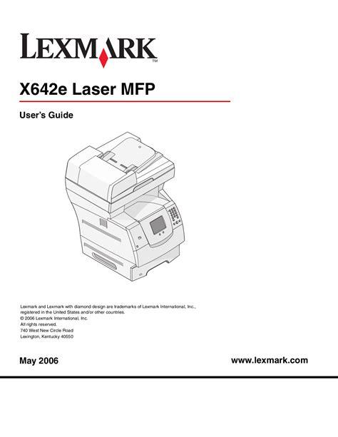 Lexmark S815 Manual (ePUB/PDF) Free