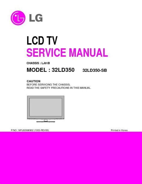 Remarkable Lg 32Ld350 Service Manual Epub Pdf Wiring Digital Resources Jonipongeslowmaporg