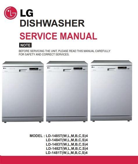 Lg Dishwasher Manual Pdf (ePUB/PDF) Free