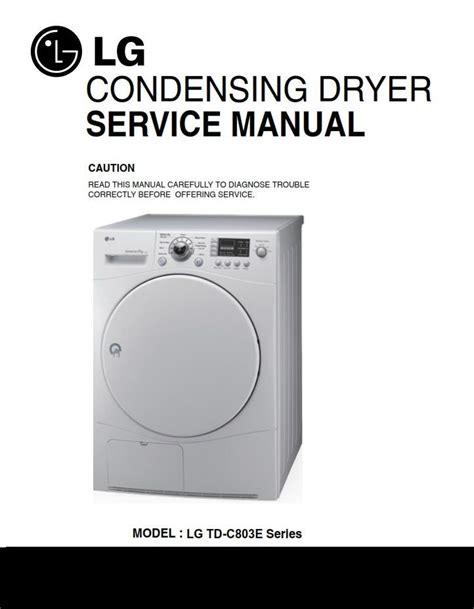 Lg Dryer Problem Manual ePUB/PDF