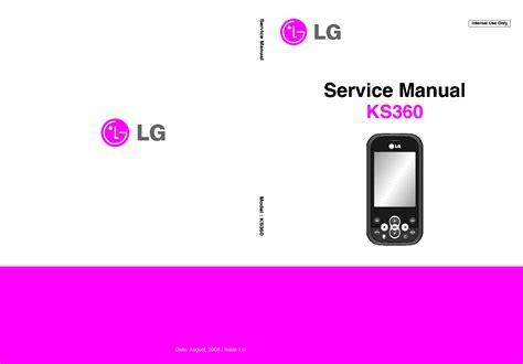 Lg Ks360 Manual (ePUB/PDF) Free