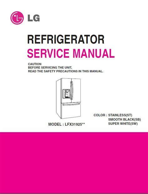 Lg Lfx31925sb Service Manual Repair Guide (ePUB/PDF) Free