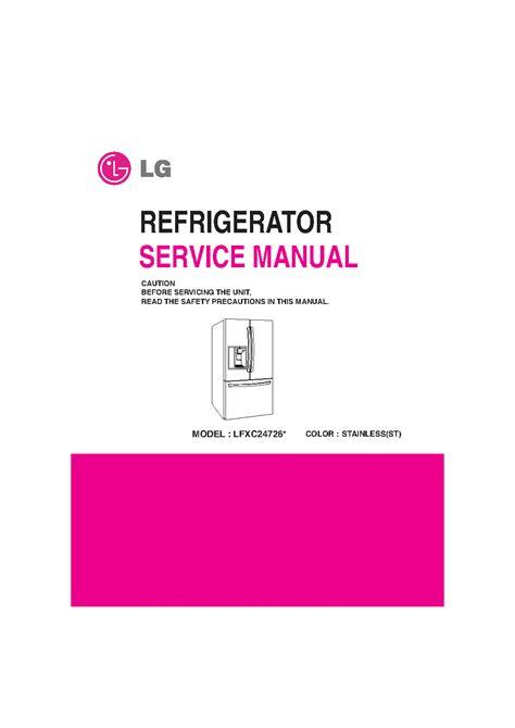 Lg Lfxc24726s Service Manual Repair Guide ePUB/PDF