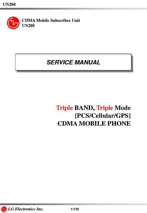 Lg Sabre Manual