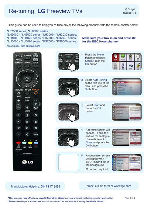 Lg Tv Setup Guide Manual (ePUB/PDF) Free