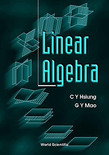Linear Algebra Hsiung C Y Mao G Y (ePUB/PDF) Free