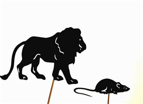 Lion Nd Nouse Shadow Puppet Print Outs (ePUB/PDF) Free