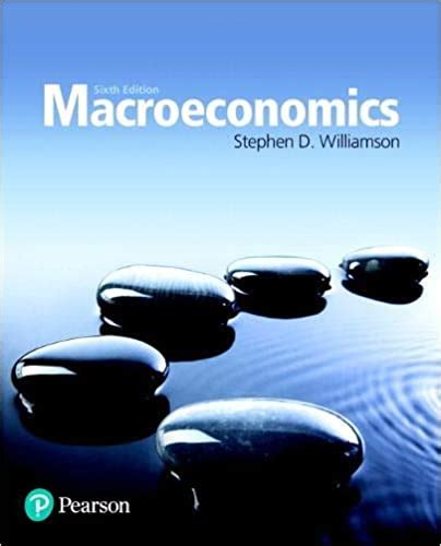 Macroeconomics 6th Edition The Pearson Series In Economics