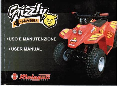 Malaguti Grizzly Repair Manual (ePUB/PDF)