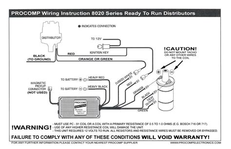Download Mallory Pro Comp Distributor Wiring Diagram From