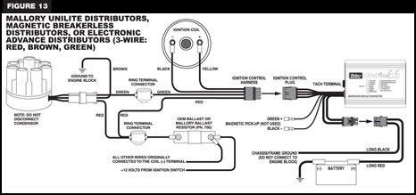 Ballest Resistor Mallory Unilite Wiring Diagram on