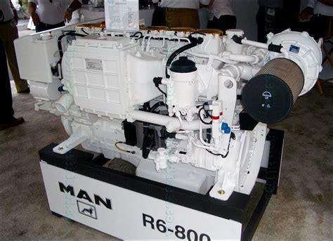 Man Marine Diesel Engine R6 800 R6 730 Series Workshop Service ...