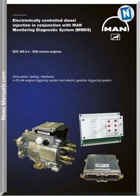 Man Monitoring Diagnostic System Marine Diesel Engine Common