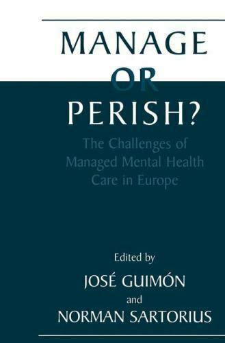 Manage Or Perish Sartorius Norman Guimn Jos (ePUB/PDF) Free