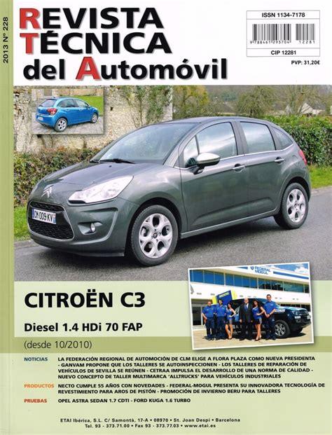 Manual De Taller Citroen C3 14 Hdi (ePUB/PDF) Free