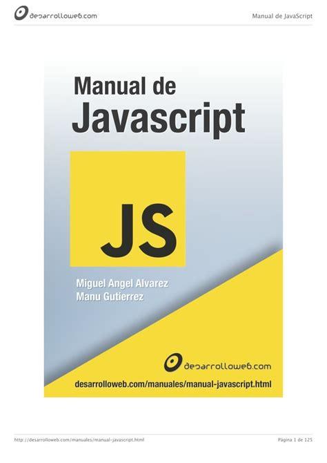 Manual Javascript Espanol (Free ePUB/PDF)