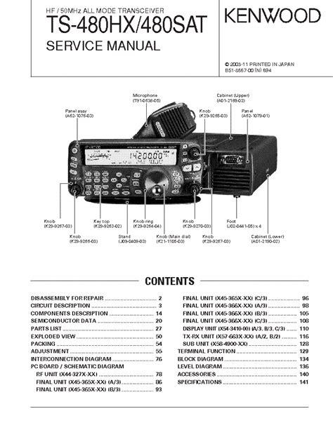 Manual Kenwood Ts 480 Espanol (ePUB/PDF) Free