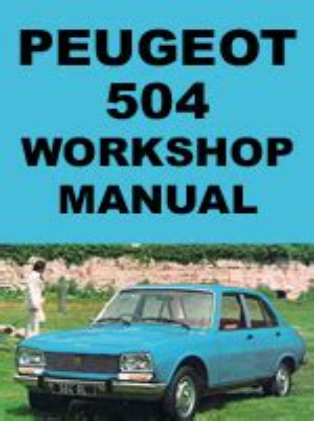 Manual Peugeot 504 (ePUB/PDF)