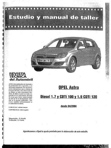 Manuale Officina Opel Astra Gtc (ePUB/PDF)