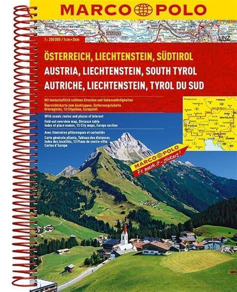 Marco Polo Reiseatlas Osterreich Liechtenstein Sudtirol