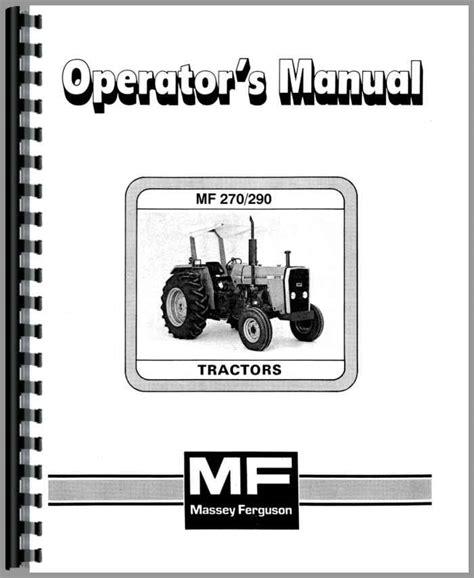 Massey Ferguson 290 User Manual - vk.ead.faveni.edu.br
