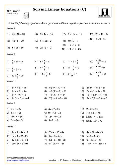 Math Skills Grade 8 Practice Apply (ePUB/PDF)