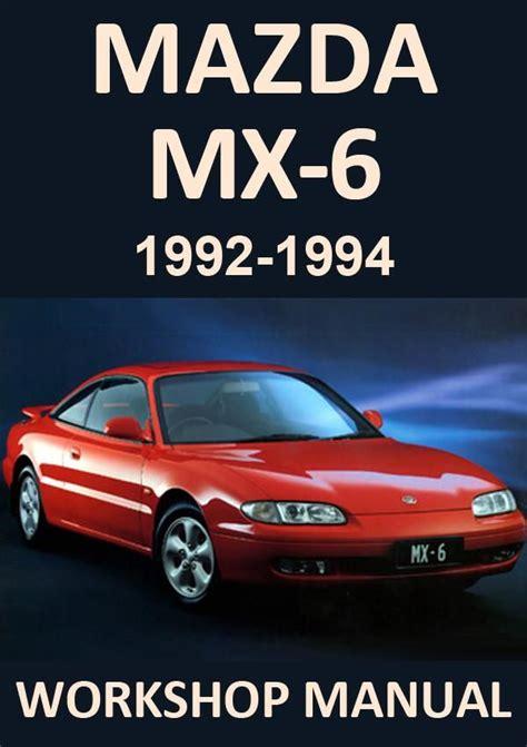 Mazda Mx6 Manual (PDF/ePUB)