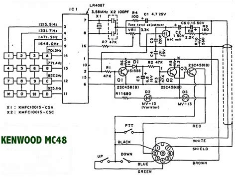 mc 48b microphone wiring diagram