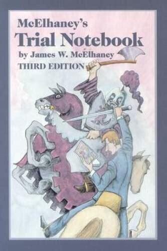 Mcelhaneys Trial Notebook Third Edition (ePUB/PDF) Free