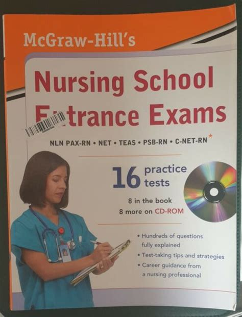 Mcgraw Hills Nursing School Entrance Exams With Cd Rom