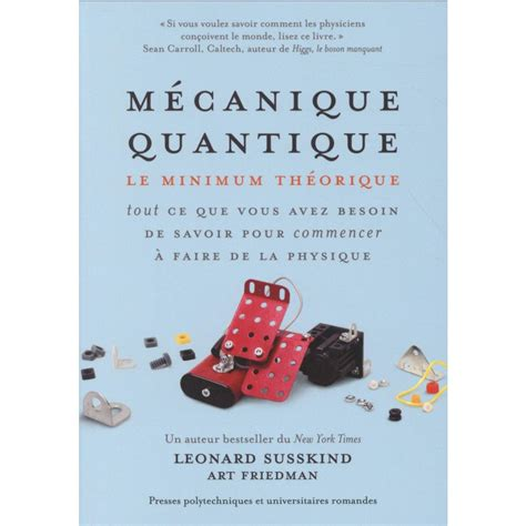 Mecanique Quantique Le Minimum Theorique (ePUB/PDF) Free