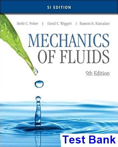 Mechanics Of Fluids Potter Solution Manual (ePUB/PDF)