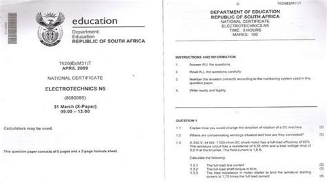 Mechanotechnics N5 Exam Papers (ePUB/PDF)