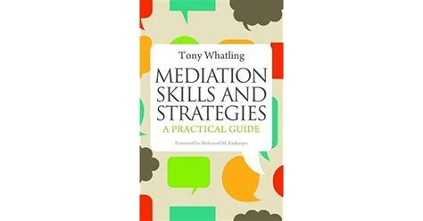 Mediation Skills And Strategies A Practical Guide