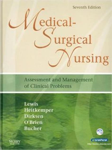 MedicalSurgical Nursing Assessment And Management Of Clinical Problems 7th Edition