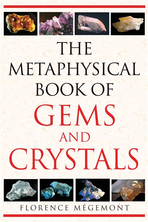 Metaphysical Book Of Gems And Crystals