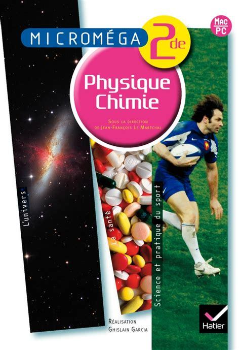 Micromega Physique Chimie 2de Ed 2010 Livre Du Professeur (ePUB/PDF)